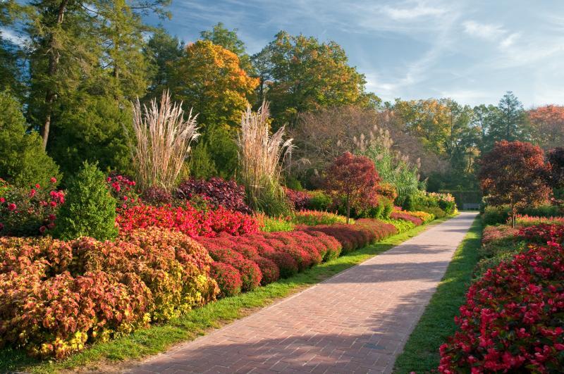 Exceptionnel ... Garden Design With Flower Garden Walk Highlights Longwood Gardens With  Garden Landscape Designer From Longwoodgardens.
